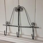 Black wire hooks